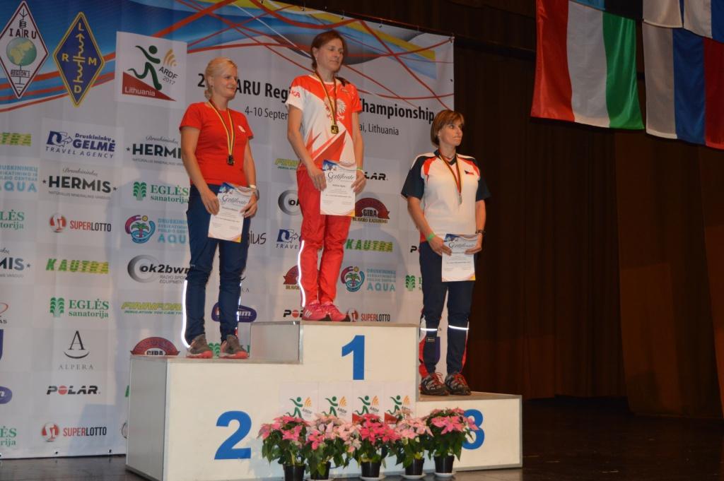 Złoty i brązowy medal Agaty Kulickiej z Mistrzostw Europy